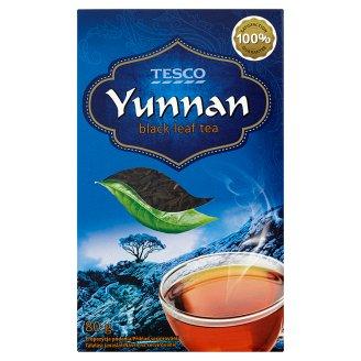 Tesco Yunnan čaj černý sypaný 80g