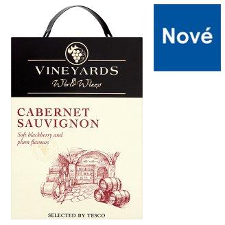 Vineyards World Wines Cabernet Sauvignon Red Dry Wine 3L