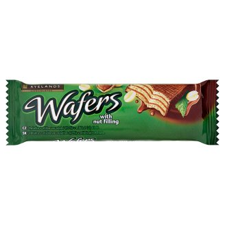 Ryelands Chocolates Wafers with Nut Filling 40g