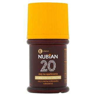 Nubian Olej na opalování SPF 20 60ml