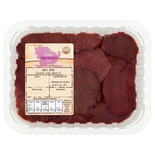 Tesco Čerstvé Krůtí Droby Fresh Turkey Liver