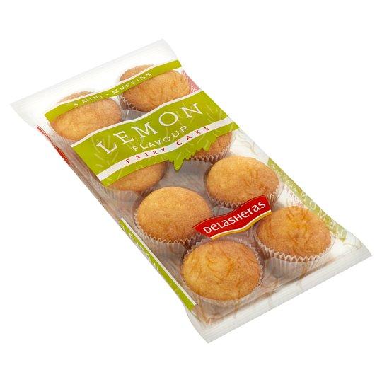 Delasheras Mini Muffins with Lemon Flavor 180g