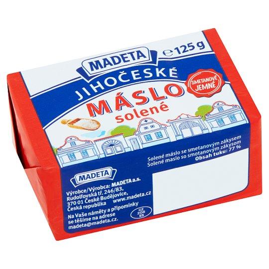 Madeta Jihočeské Sunday Salted Butter with Sour Cream 125g