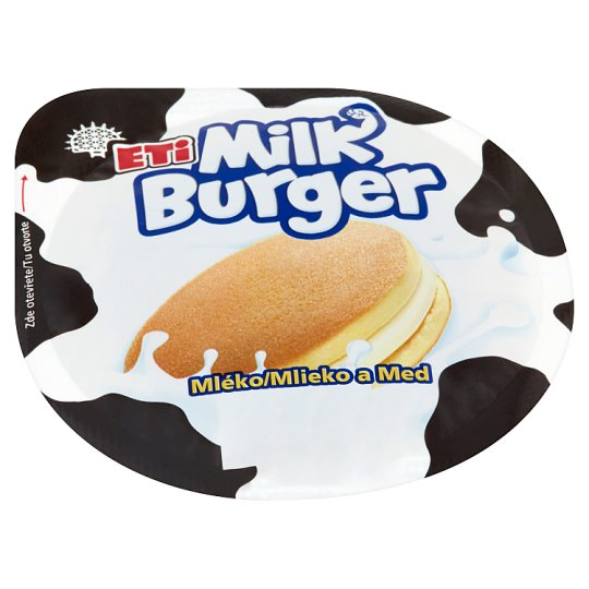 Eti Milk Burger Milk and Honey 35g