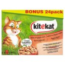 Kitekat 4 Kinds of Meat in The Juice 2 x 12 x 100g