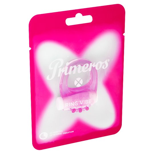 Primeros Ring Vibe Vibrating Ring of High Quality Silicone for 20 Minutes of Intense Vibrations