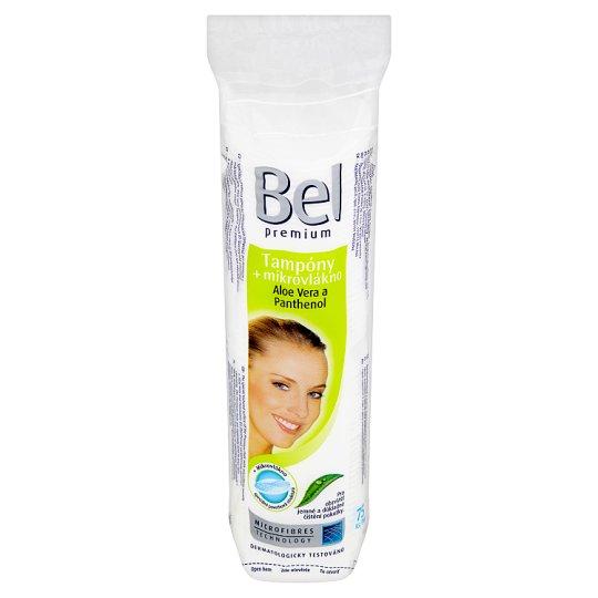 Bel Premium Pads + Microfibres Aloe Vera and Panthenol 75 pcs