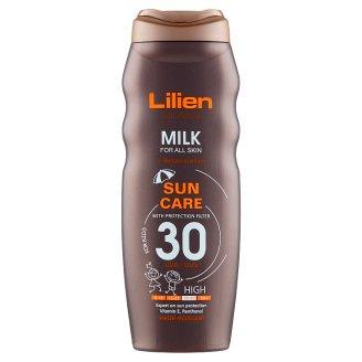 Lilien Sun Active Voděodolné mléko SPF 30 200ml