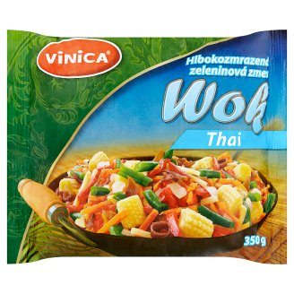 Vinica Frozen Mixed Vegetables Wok Thai 350g