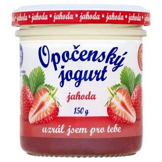 Bohemilk Opočenský jogurt jahoda 150g