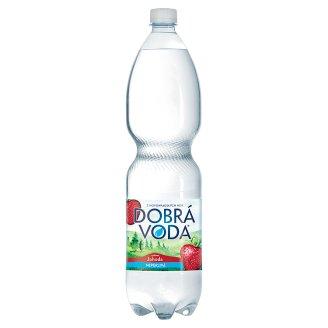 Dobrá voda Neperlivá s příchutí jahoda 1,5l