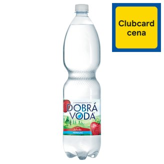 Dobrá voda Still Water with Strawberry Flavour 1.5L