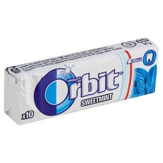 Wrigley's Orbit Žvýkačka bez cukru s mátovou příchutí 10 ks 14g