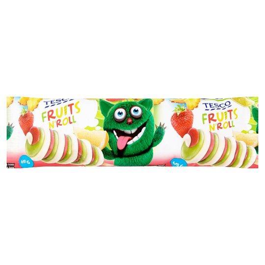 Tesco Fruits N' Roll mražený krém vodový 75ml
