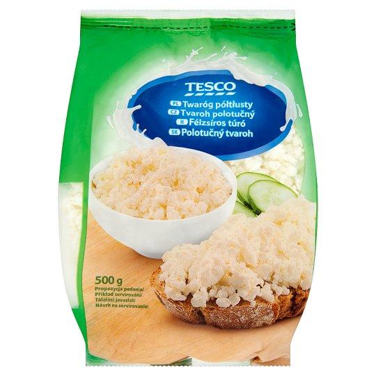 Tesco Semi Fat Curd 500g