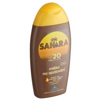 Sahara Mléko na opalování OF 20 200ml