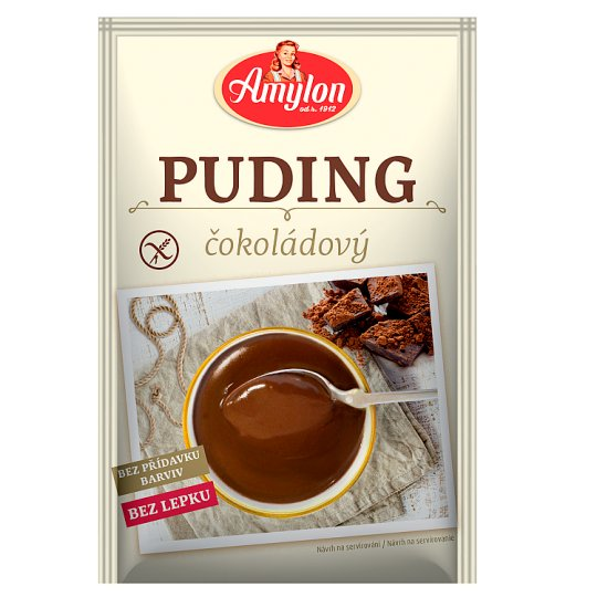 Amylon Chocolate Gluten Free Pudding 40g