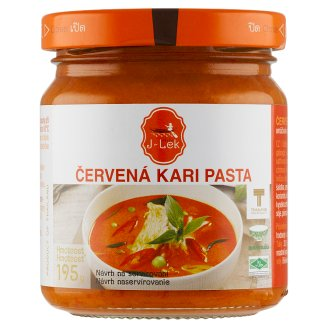 J Lek Red Curry Paste 195g