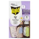 Raid Active Paper Against Moth Active Hanger Fresh Flowers 4 pcs