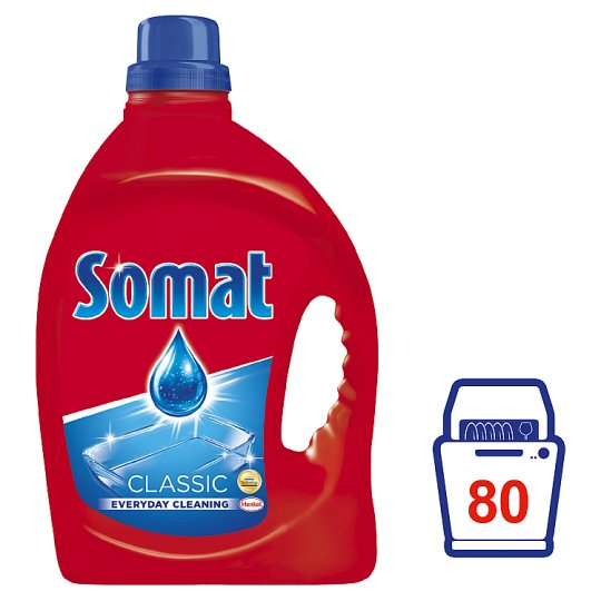 Somat Classic Gel Liquid Composition for Automatic Dishwashing 2L