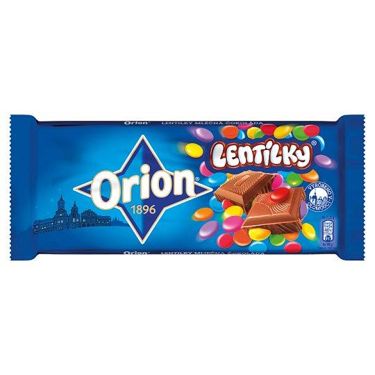 ORION LENTILKY Milk Chocolate 170g