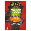 Heinz Vegetable Cup Soup 4 x 19g