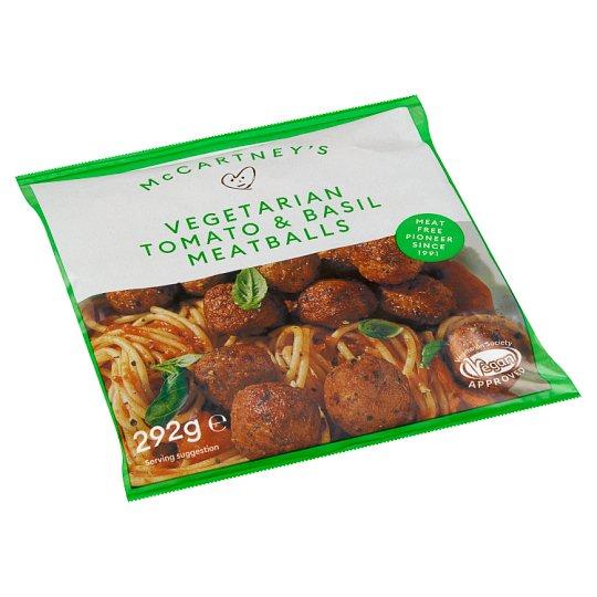 Linda McCartney's Vegetariánské masové kuličky s rajčaty a bazalkou z hráškového proteinu 292g