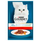 GOURMET Perle Mini Fillets with Beef and Carrot in Sauce 85g