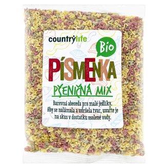 Country Life Bio písmenka pšeničná mix 250g