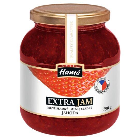 Hamé Sweet Extra Jam Jahoda, méně sladký 790g