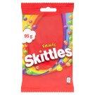 Skittles Fruits žvýkací bonbóny v křupavé cukrové krustě s ovocnými příchutěmi 95g