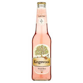 Kingswood Apple Cider Sweet Rosé 400ml