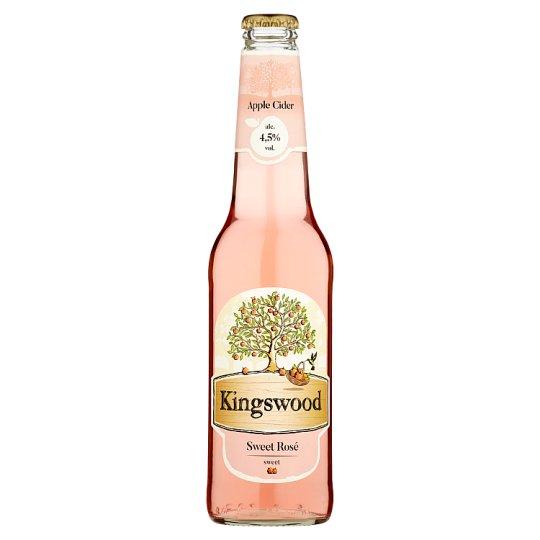 Kingswood Apple Cider Sweet Rosé 400ml