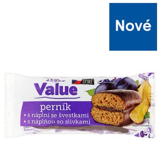 Tesco Value Gingerbreads with Prunes 60g