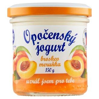 Bohemilk Opočenský jogurt broskev meruňka 150g