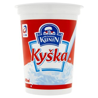 Mlékárna Kunín Kyška Sour Whole Milk 400ml