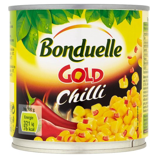 Bonduelle Gold Corn with Chilli 310g