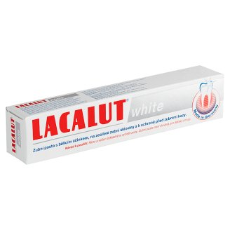 Lacalut White Toothpaste With Whitening Effect 75ml