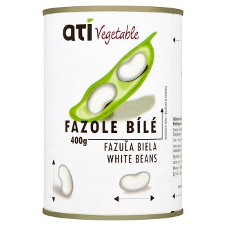Ati Vegetable White Beans 400g