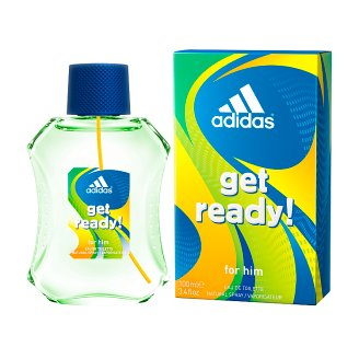 image 1 of Adidas Get Ready! Toilet Water for Him 100ml