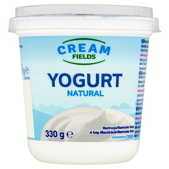 Cream Fields Bílý jogurt 330g