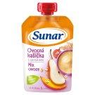 Sunárek Mash with Cereals and Fruits 120g
