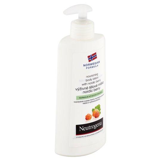 Neutrogena Výživné tělové mléko Nordic Berry 400ml