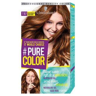 Schwarzkopf Pure Color barva na vlasy Sladce Karamelová 7.57
