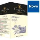 Vineyards World Wines Merlot Wine Red Dry 3L
