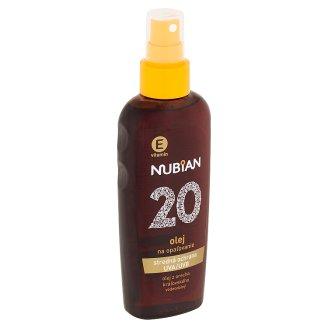 Nubian Olej na opalování SPF 20 150ml