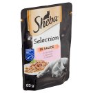 Sheba Selection in Sauce with Salmon 85g