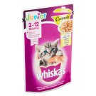 Whiskas Junior Casserole Steamed Juicy Pieces in Jelly with Chicken 85g