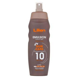 Lilien Sun Active Voděodolná emulze SPF 10 200ml