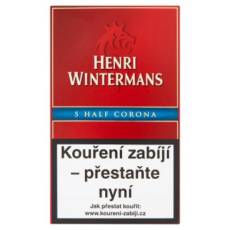 Henri Wintermans Half Corona Cigars 5 pcs